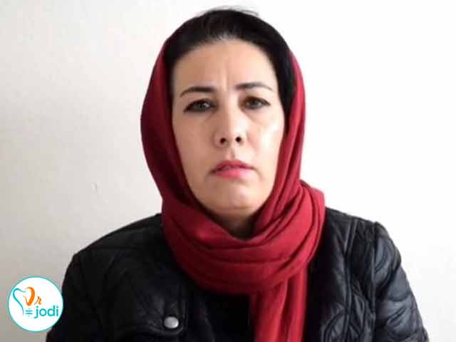فیلم رضایت بیمار کاشت دندان بهمن ماه 95