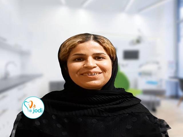 فیلم رضایتمندی سرکار خانم رفیعی پور بیمار جراحی لثه با لیزر