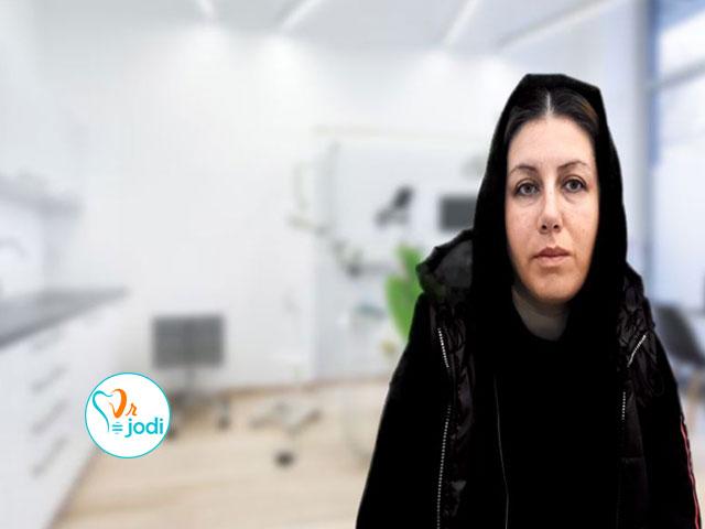 فیلم رضایتمندی بیمار لثه و ایمپلنت دندان سرکار خانم مهناز جمالی