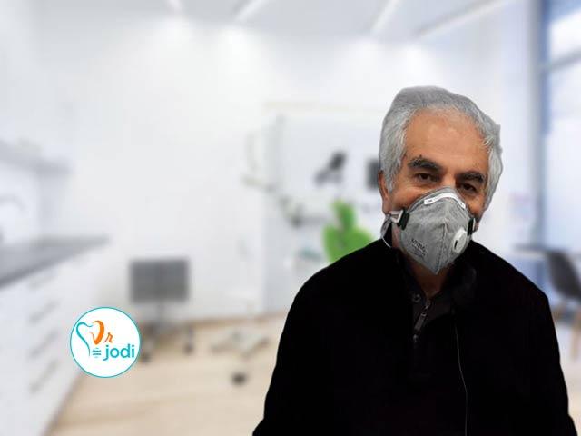 فیلم رضایتمندی جناب آقای محمد ثقفی بیمار ایمپلنت دندان