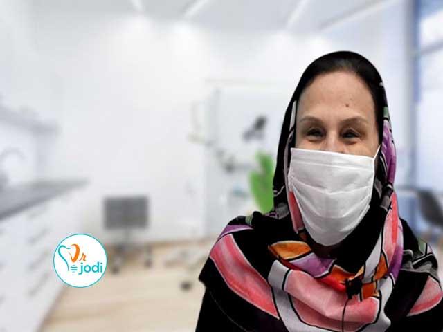 فیلم رضایتمندی بیمار ایمپلنت دندان سرکار خانم هانیه پورعلی