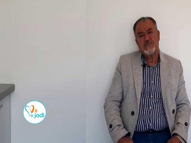 فیلم رضایتمندی بیمار ایمپلنت دندان جناب آقای احمد رامندی