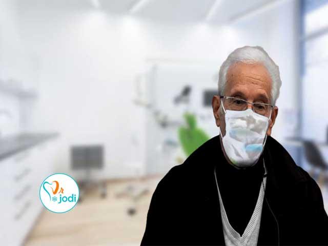 فیلم رضایتمندی بیمار ایمپلنت دندان جناب آقای ابراهیم شبستری